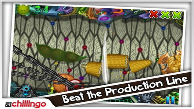 Chillingo Releases Food Processing, An iOS Game With a Familiar Premise