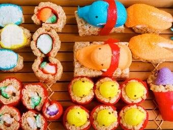 Mmm...Marshmallow Sushi