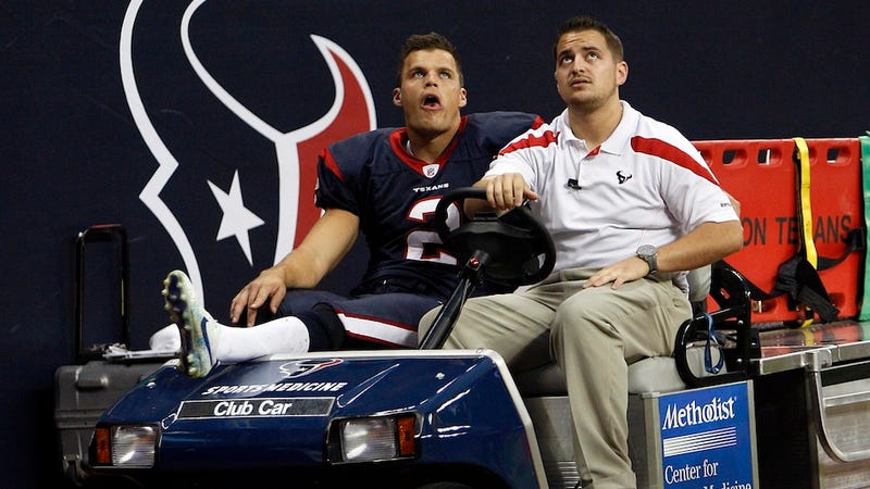 Former Texans Punter Suing Reliant Stadium Owners For Being Injured By Its Crappy Field