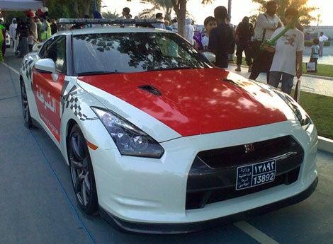 Abu Dhabi Gets A Nissan GT-R Police Car