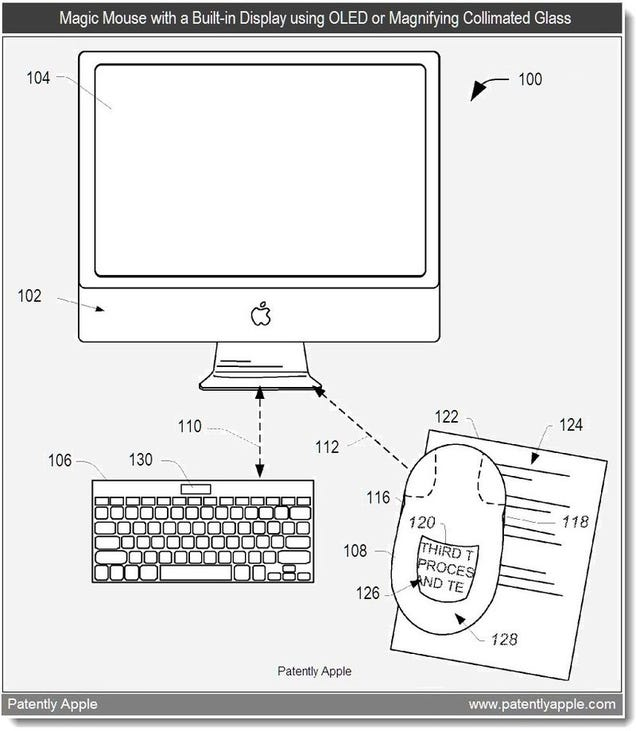 Your Next Magic Mouse Could Have a Built-In Display