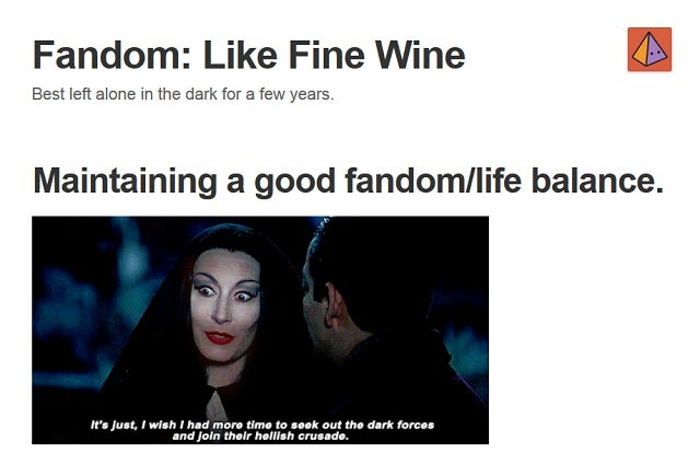 If you've got fandom feels, this tumbr has a gif for it