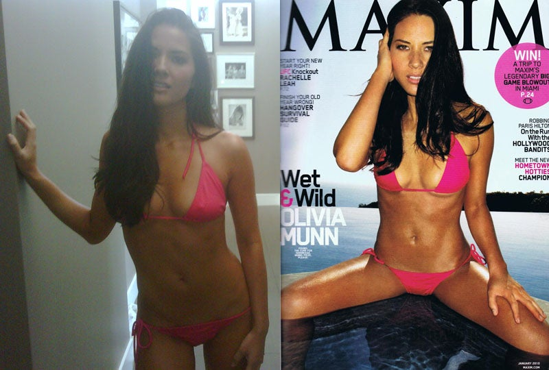 Olivia Munn's Super Dirty Alleged Naked Pics: 'Lick My Tight Asshole and Choke Me'