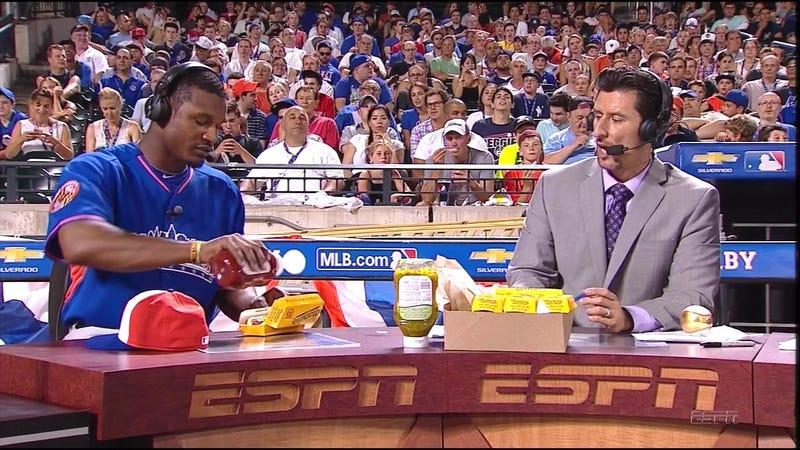 MLB Player Puts Ketchup On Hot Dog, Outrage Ensues