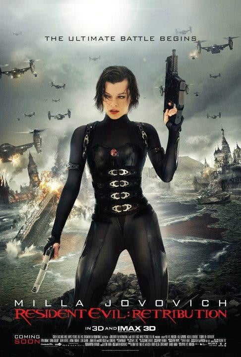 Resident Evil: Retribution - Posters