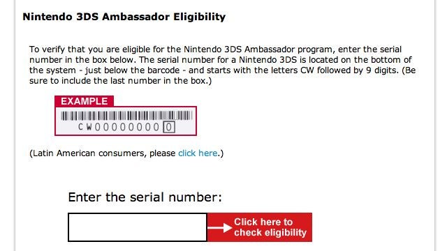 How to Check Your 3DS Ambassadorship Status