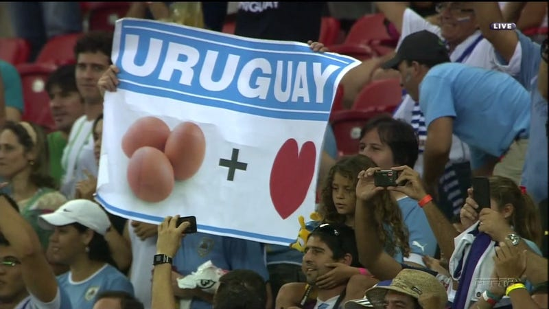 It Took Some Real Cojones To Make This Uruguay Sign