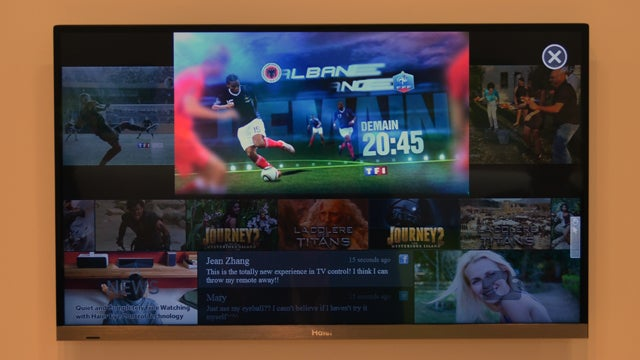Haier's Eye-Controlled Display Could Be the Future of Super-Lazy TV Watching