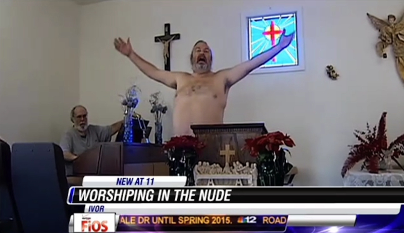 "Church Champions Nude Worship Because ""Jesus Was Born Naked"""
