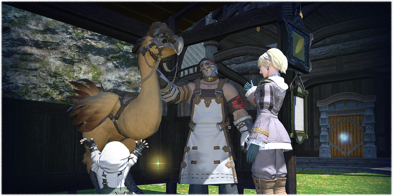 Now Final Fantasy XIV Has Private Quarters And Chocobo Raising