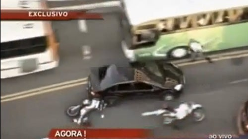 This Violent Car Chase Is Like Grand Theft Auto In Real Life