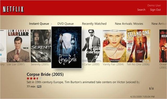 Netflix Streaming Arrives in Windows Media Center