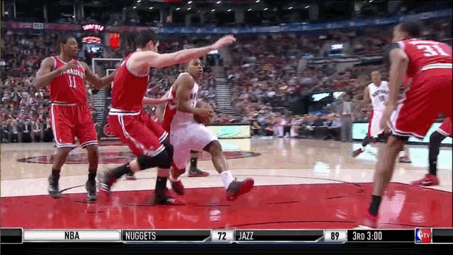Kyle Lowry: Waiting 'Til The Last Second