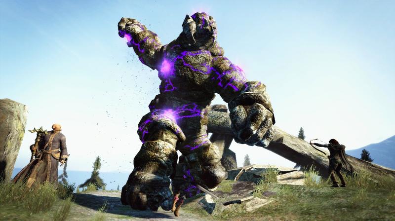 The Laser-Shooting Golem of Dragon's Dogma
