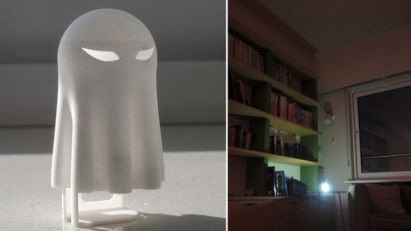 This Ghost-Shaped iPhone Nightlight Will Scare Away the Dark