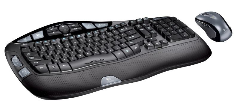Logitech Introduces Wave Keyboard and Cordless Desktop