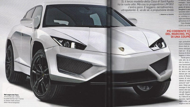 Is This The New Lamborghini SUV?