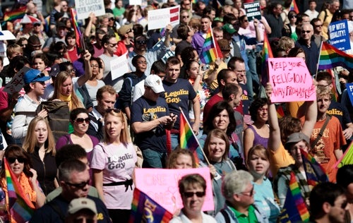 Scenes From The National Equality March