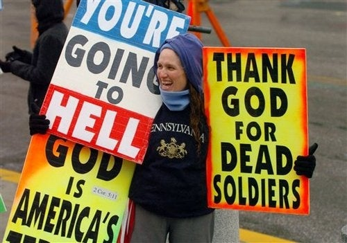 Westboro Baptist Church Says God Was Punishing Killed Miners