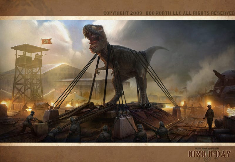 The Dinosaurs, Robots and BioShocks of Artist Ben Mauro