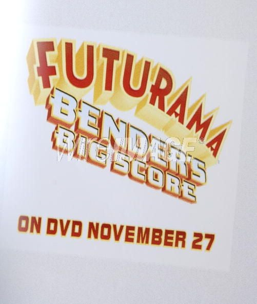 Futurama DVD Hits Shelves Today