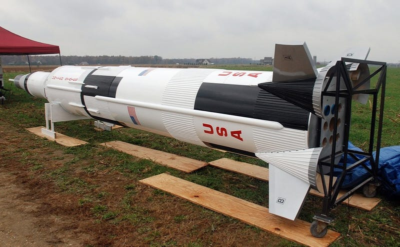 Largest Scale Model Rocket In History Blasts Off on April 25th