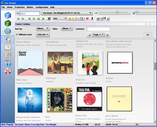 Screenshot Tour: Jajuk Music Player