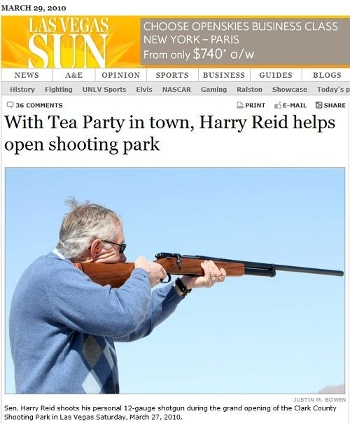 Harry Reid Will Shoot You