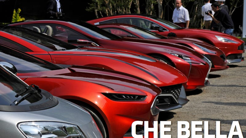 Gorgeous Cars Flock To Villa D'Este