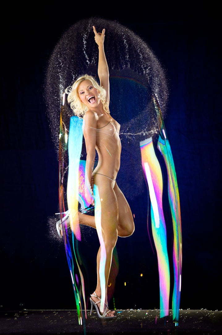 Naked Women Bursting Bubbles In Super-Slow Motion—I Rest My Case (NSFW)