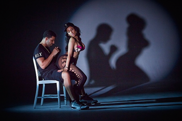 Nicki Minaj Gave Drake a Boner