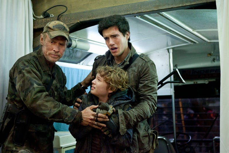 Caption This Exclusive Falling Skies Picture, and Win a Visit to the Set!
