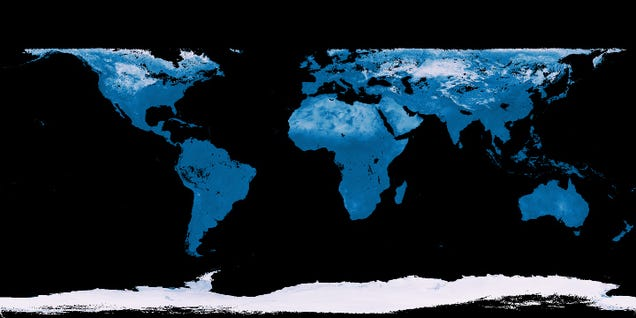 How to Read Satellite Data Maps of the Earth