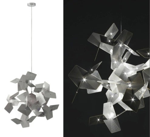 Cara Lamp is Crystal-Like LED and Silver Circuit-Board Beauty