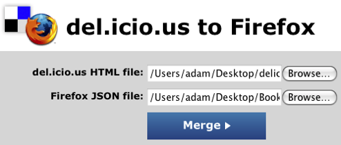 Import Your Del.icio.us Bookmarks and Tags to Firefox 3
