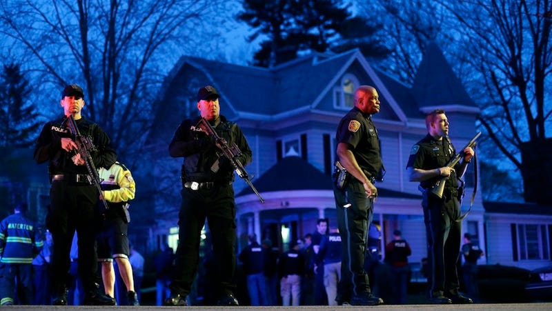They Got Him: The Boston Bombing Suspect Is In Custody