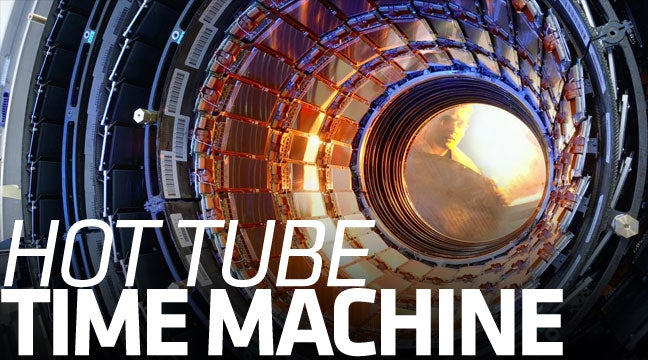 The Large Hadron Collider Might Also Be The World's First Time Machine