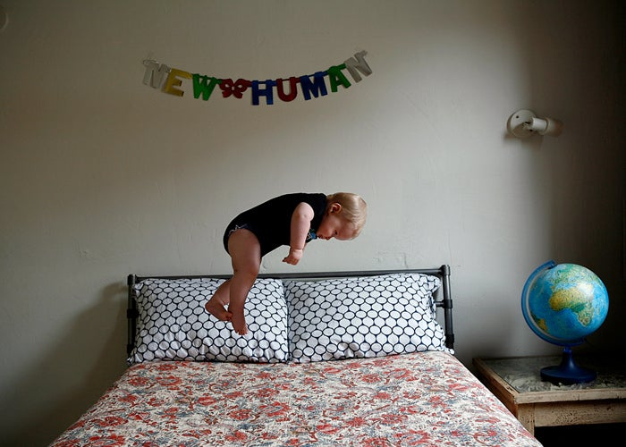 Photographer refuses to reveal how she made her baby fly