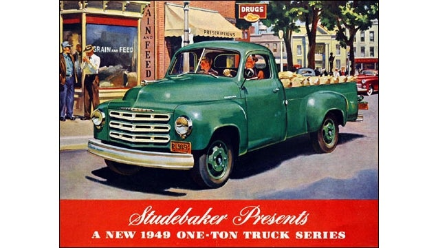 This Studebaker Tow Truck Will Leave Quad Stripes On The Ground