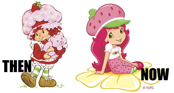 Berry Disturbing Makeover for Strawberry Shortcake