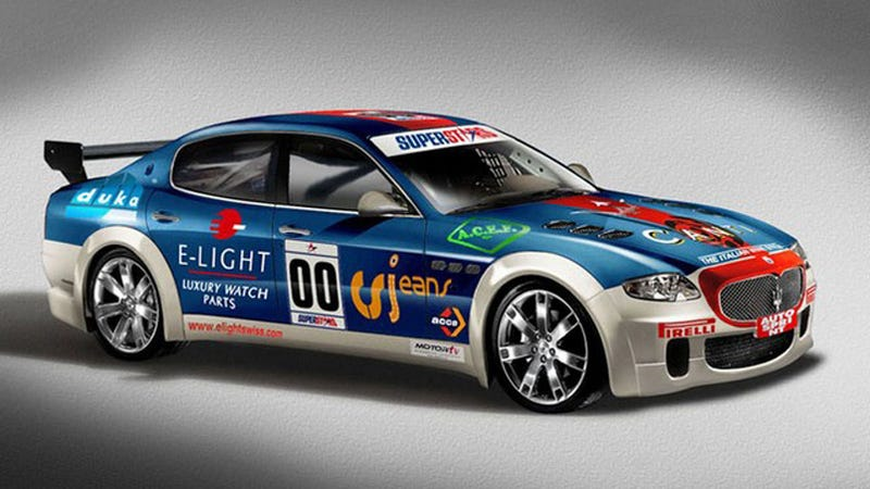 Maserati Quattroporte Racer To Debut In Superstars Series