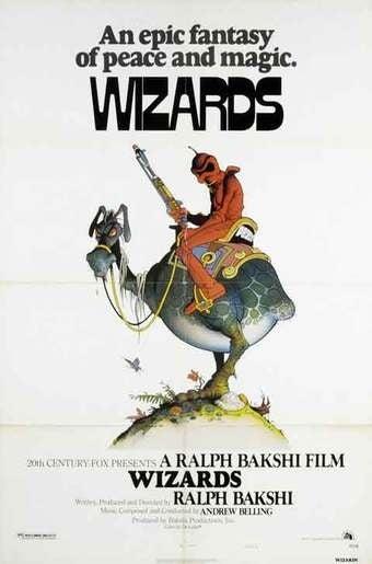 Sunday Matinee: Ralph Bakshi's post-apocalyptic fantasy Wizards