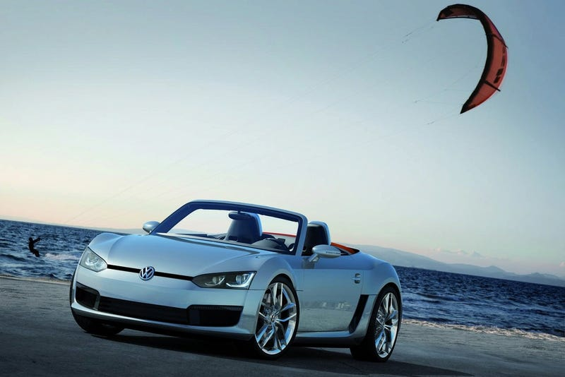 VW Bluesport Roadster: The Mid-Engined Diesel Sportscar