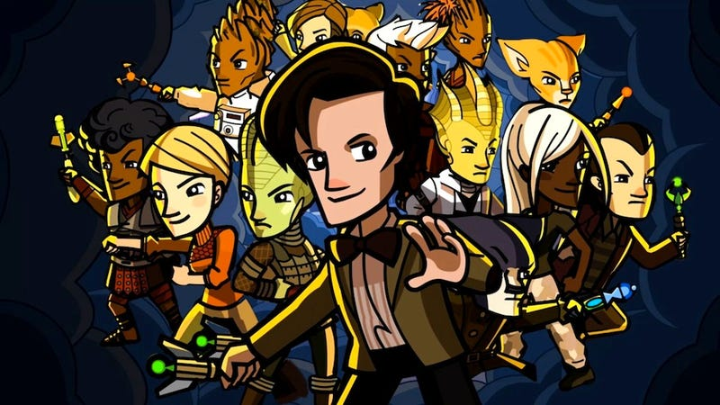The Delightful, Free Doctor Who Video Game May be the Biggest Doctor Who Thing Ever