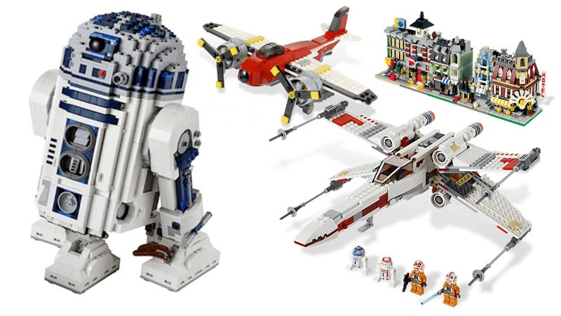 The Best Lego Sets for the Holidays 2012