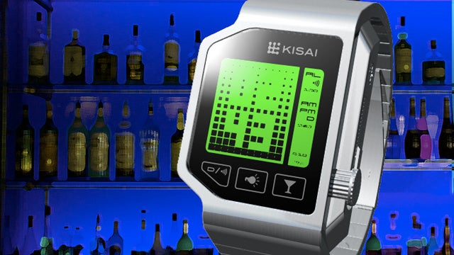 Breathalyzer Watch Tells You How Sozzled You Are, and When It's Time To Pass Out