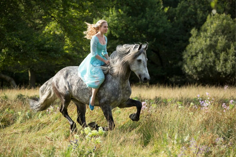 First image of Disney's new live Cinderella shows a wild princess