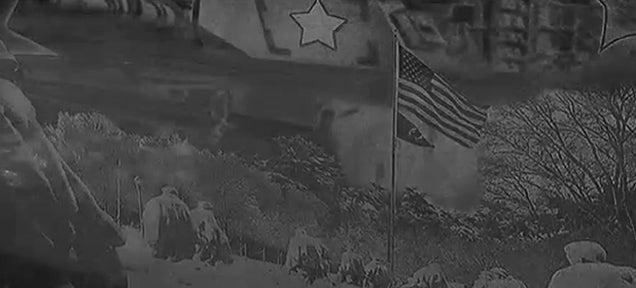 Korean War memorial is a historical photoshop horror