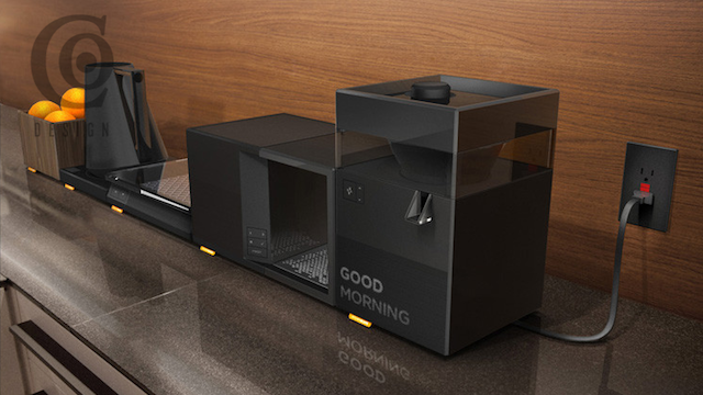 Xbox 360 Designers Cook Up Modular, Imaginary Kitchen