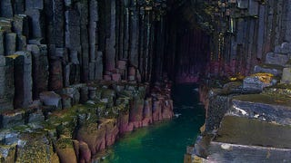 The Ethereal Beauty of Scotland's Fingal's Cave